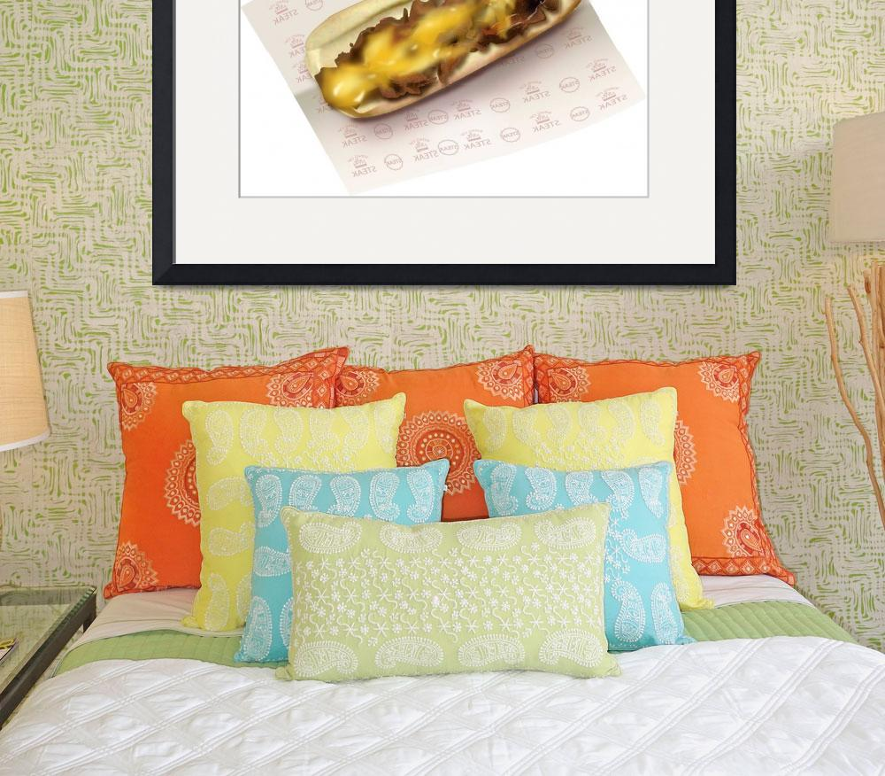 """Cheesesteak sub&quot  (2008) by LAArtworks"