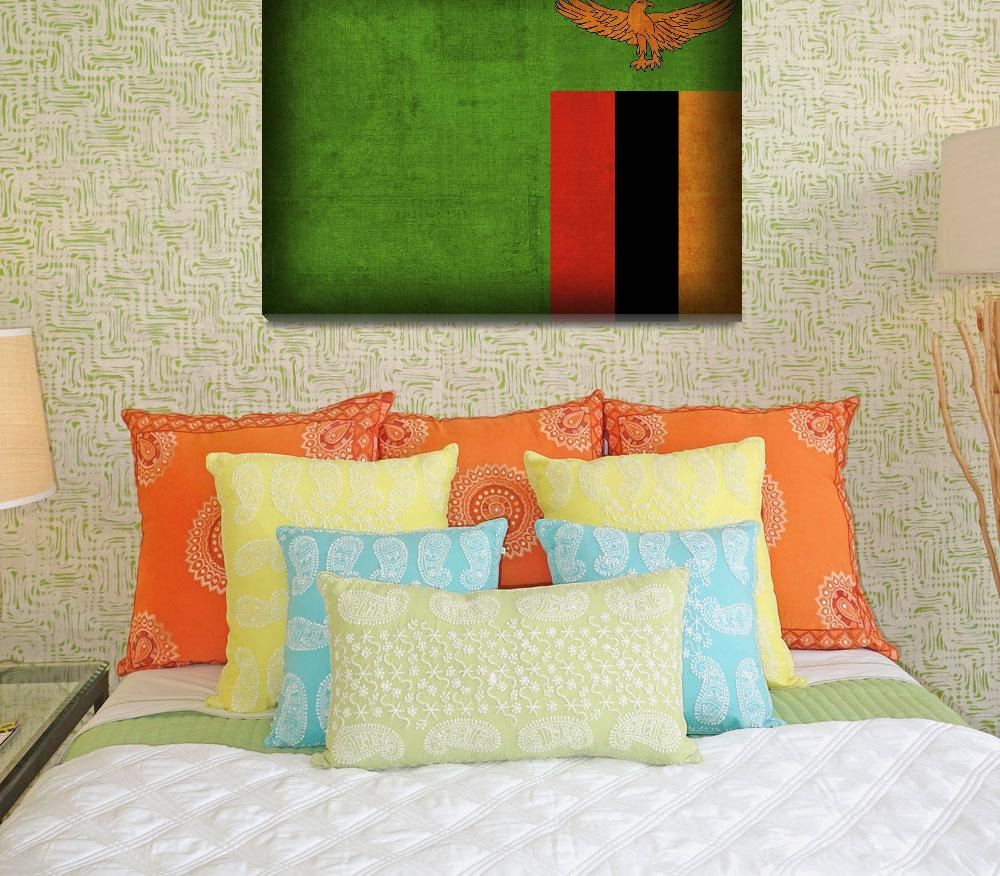 """Zambia&quot  by artlicensing"