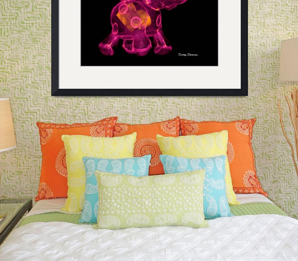 """""""Jiggle Elephant&quot  (2008) by satre"""