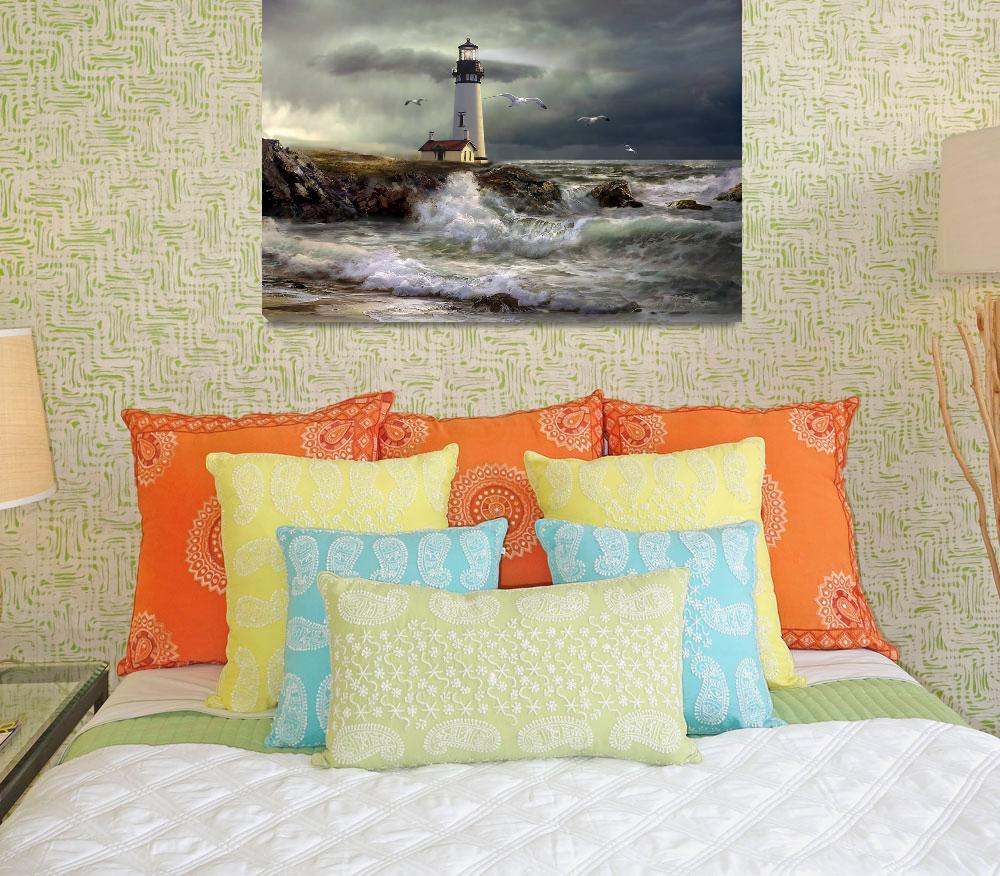 """""""Lighthouse Guidig Light""""  (2012) by Unique_designs"""