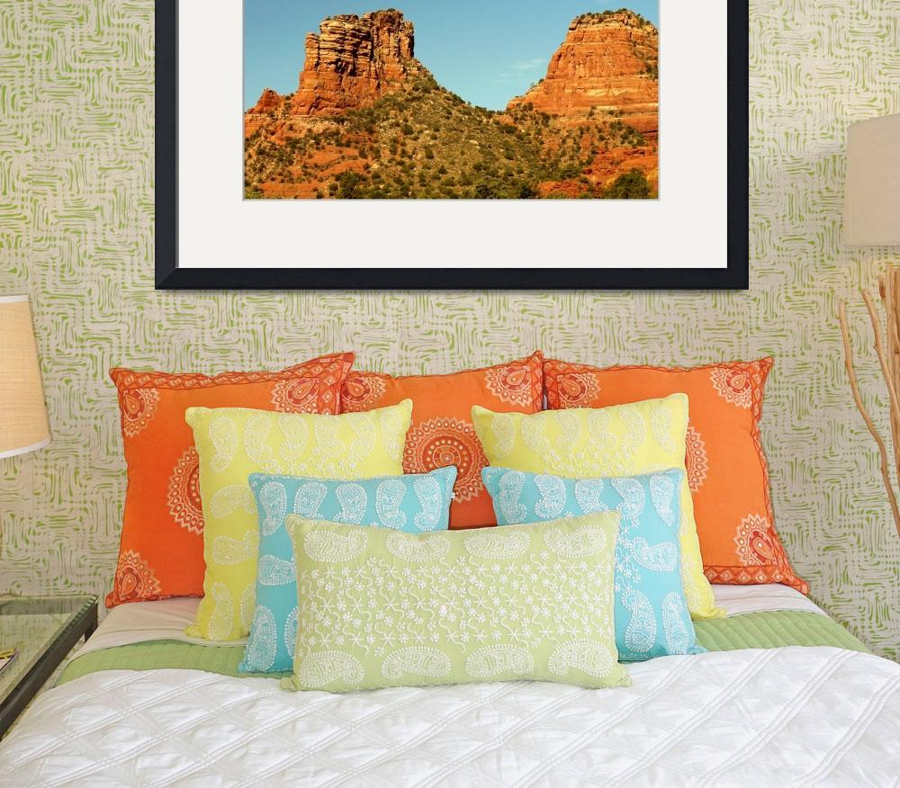 """Castle Rock, Sedona&quot  (2008) by rayjacque"