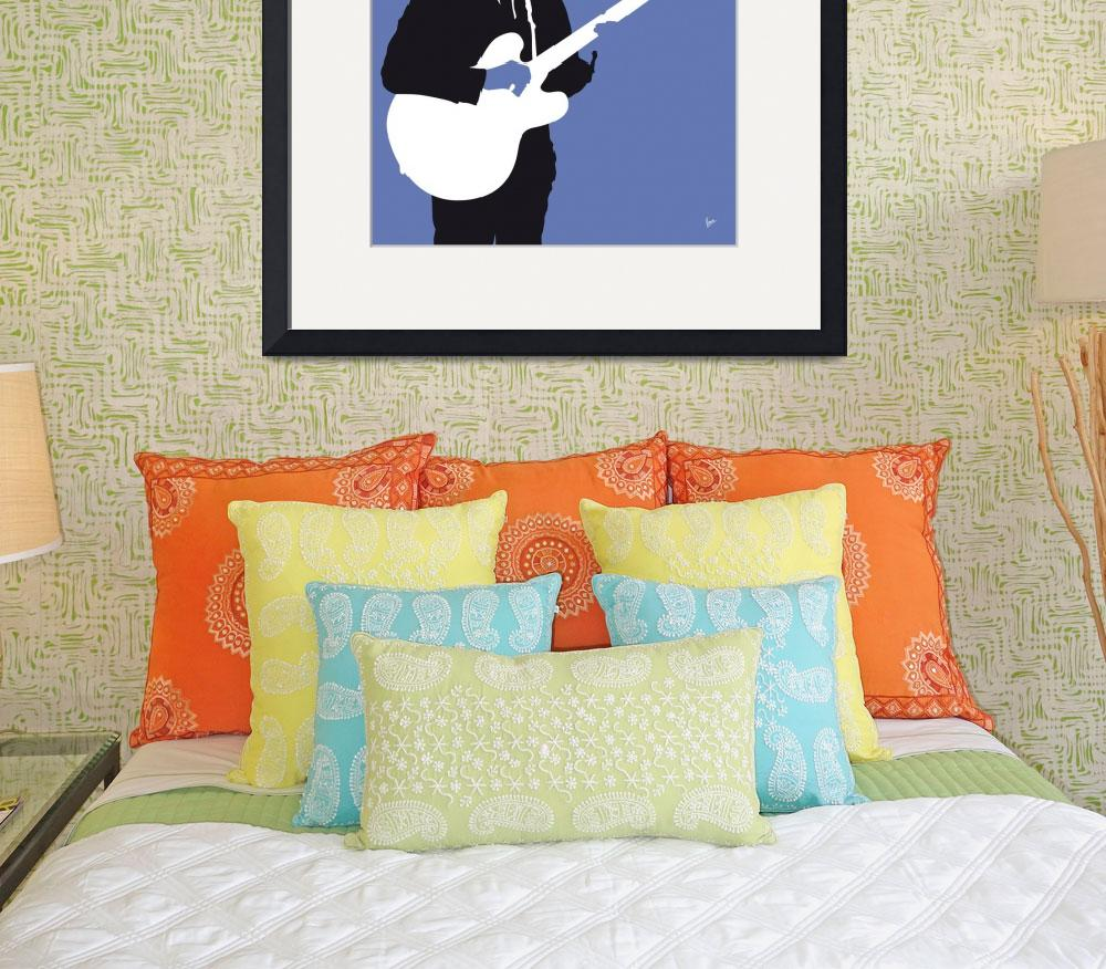 """""""No158 MY Roy Orbison Minimal Music poster&quot  by Chungkong"""