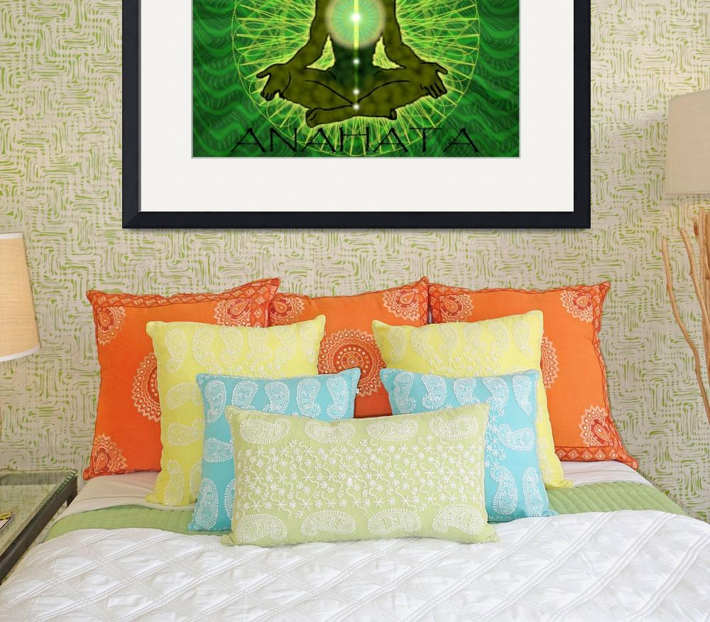 """""""Anahata Vibes""""  (2011) by regalrebeldesigns"""