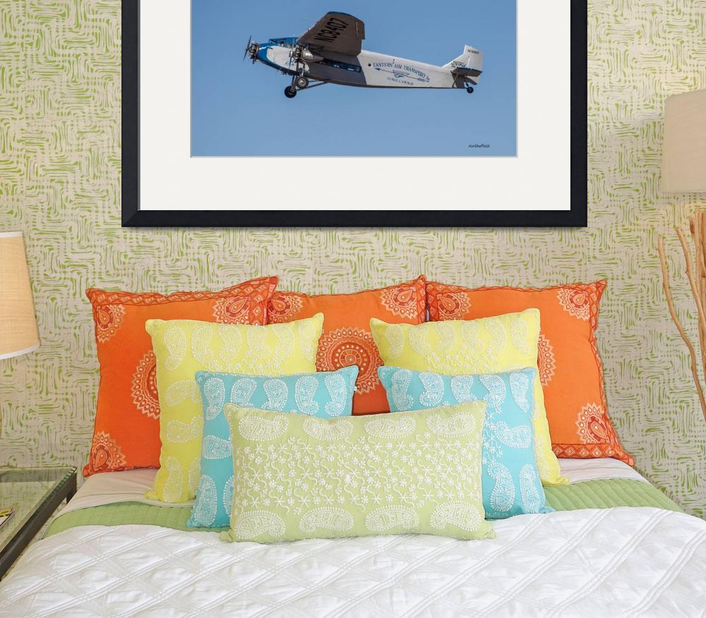 """""""Ford Tri-Motor In Flight&quot  (2015) by awsheffield"""