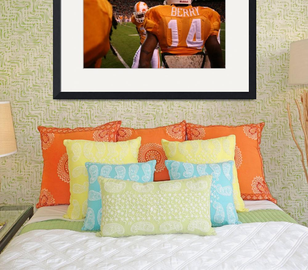 """Eric Berry #14 pregame&quot  (2009) by chrisreagan"