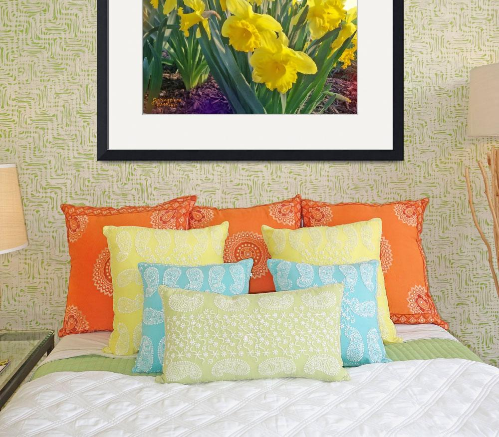 """""""Daffodils&quot  (2011) by EMBlairArtwork"""