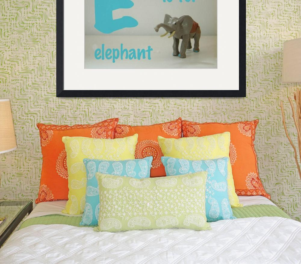 """""""E is for Elephant&quot  (2009) by mkcphotography"""