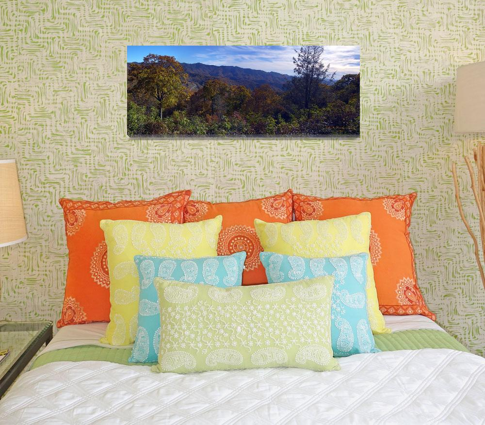 """""""Blue Ridge Mountains Panorama&quot  by PDGraphics"""