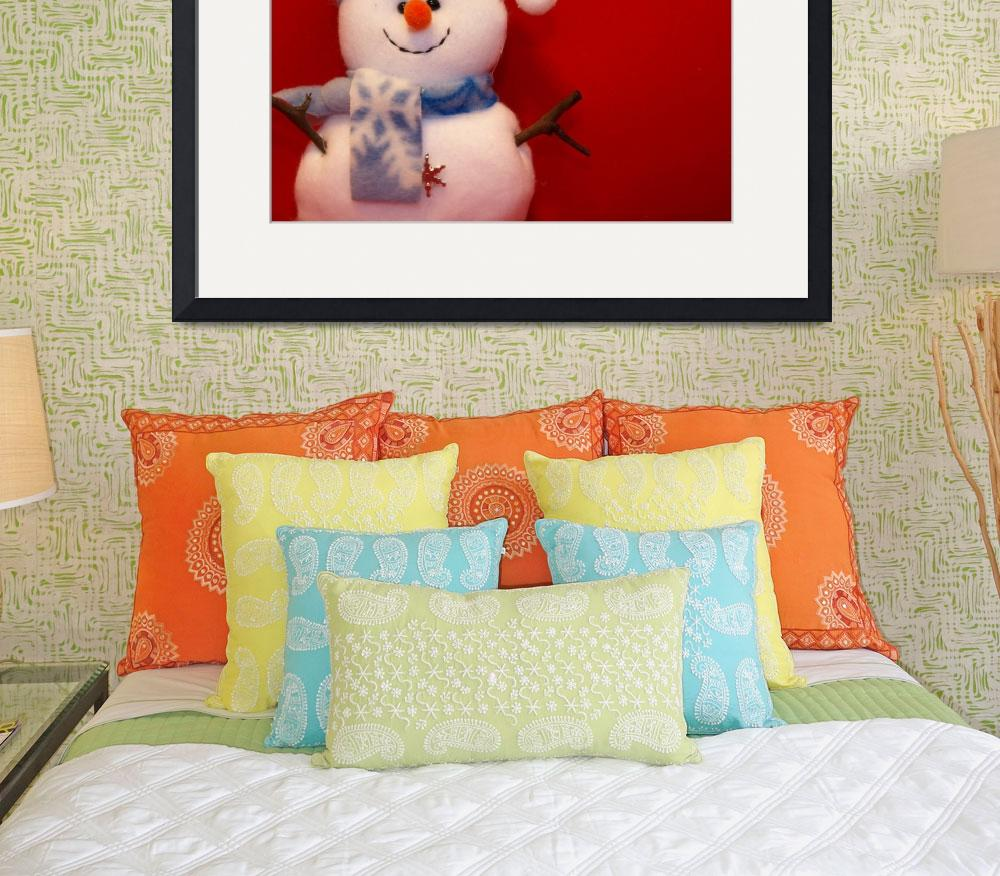 """""""Snowman 3&quot  (2009) by Albertphoto"""