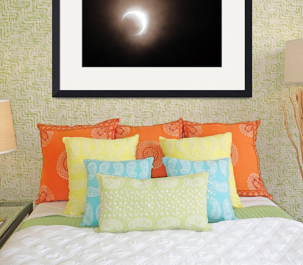 """""""2012 Solar Eclipse as Seen in Oregon&quot  (2012) by LauraM"""
