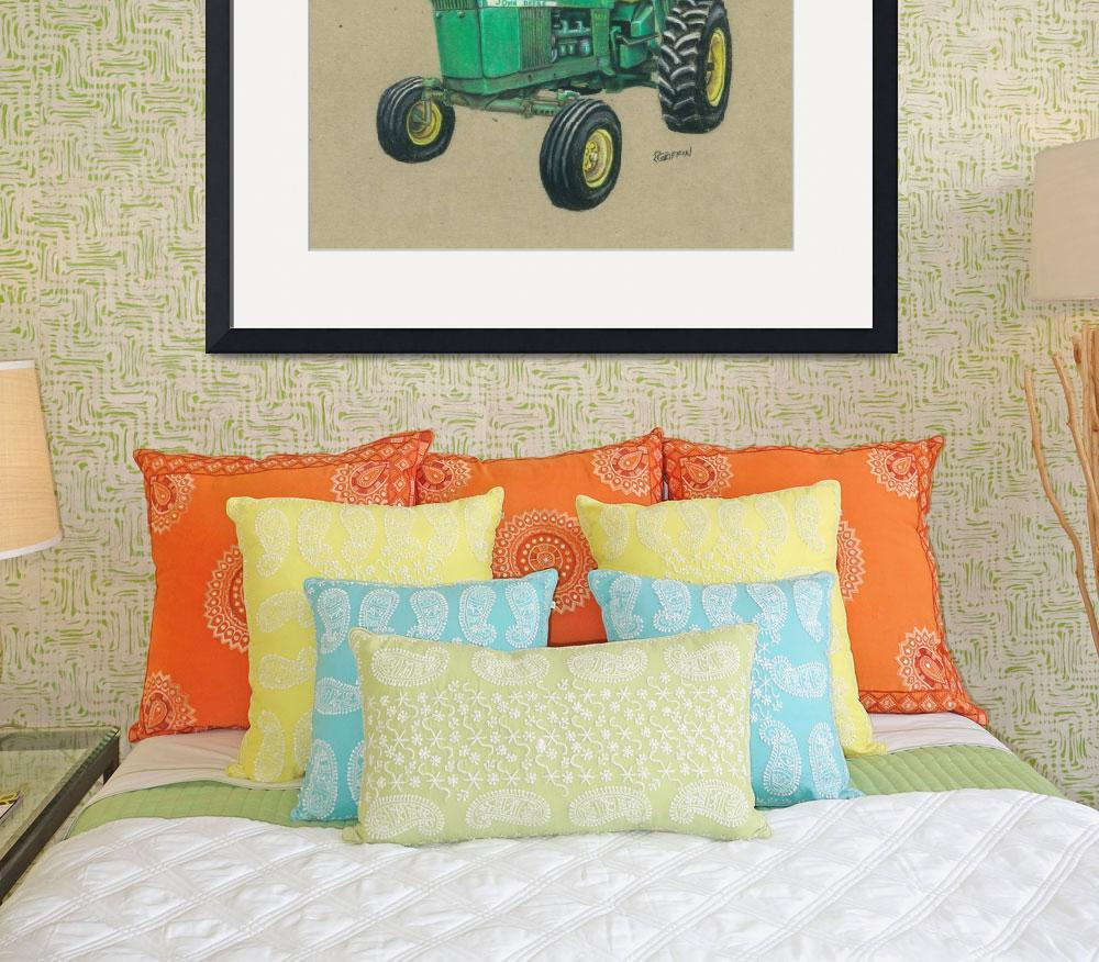 """""""Deere 4020&quot  (2010) by gypc"""