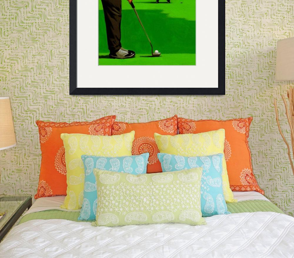 """""""Golf On The Fly&quot  (2010) by thomasfuchs"""