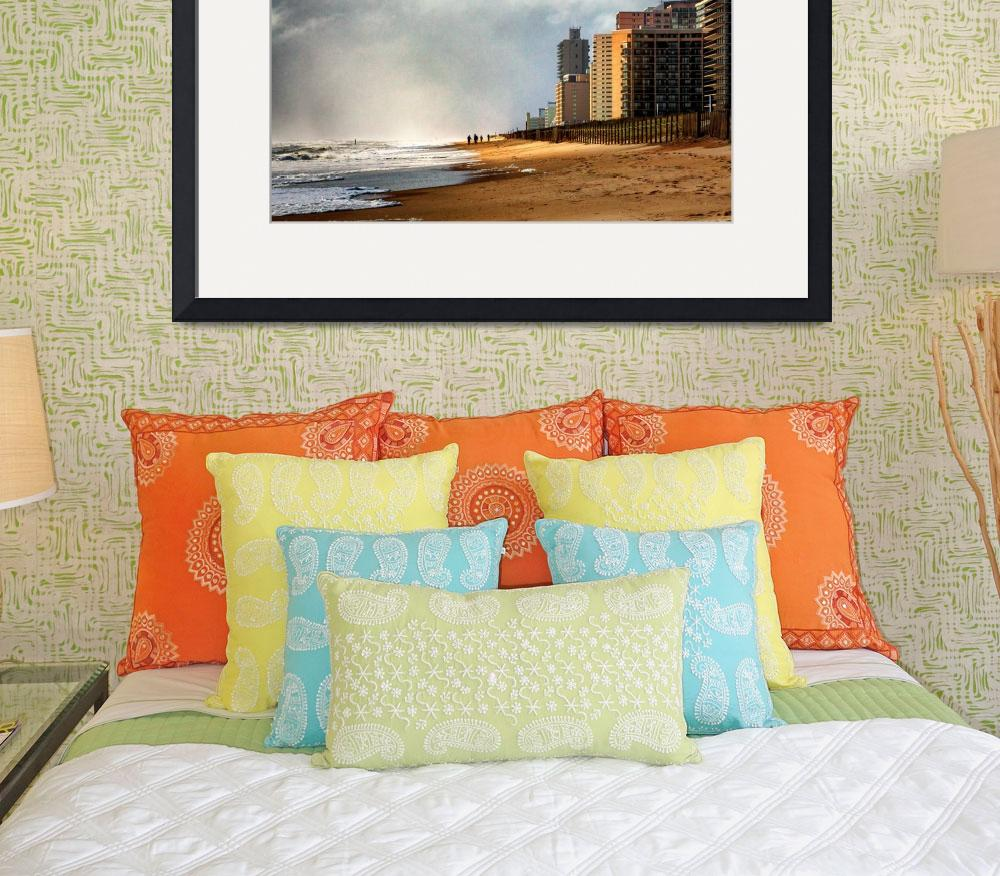 """After The Storm At Condo Row in Ocean City MD&quot  by travel"