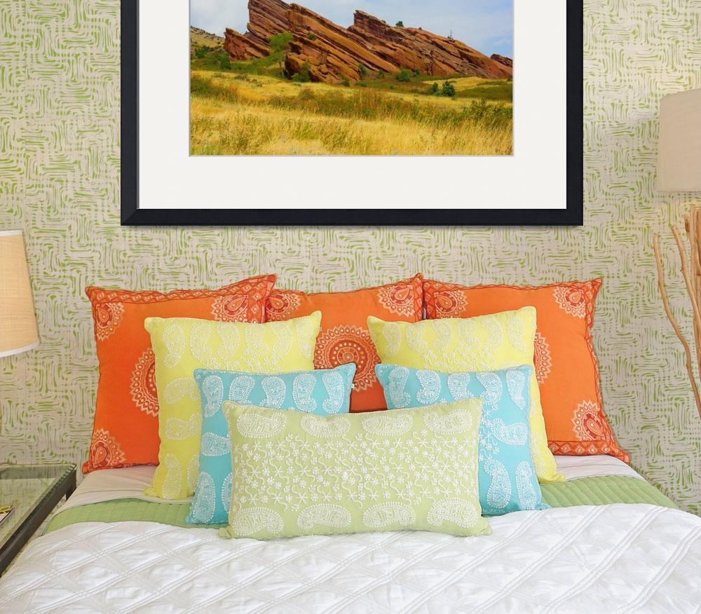 """Red Rocks Colorado&quot  (2010) by lightningman"