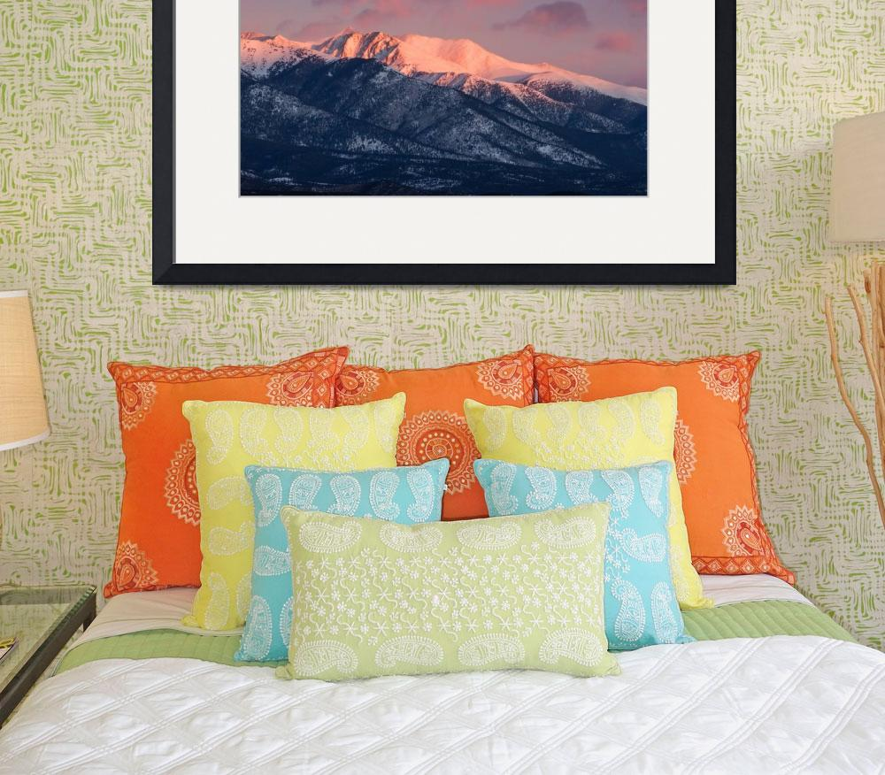 """""""Alpenglow on Antero""""  (2019) by DanBourque"""