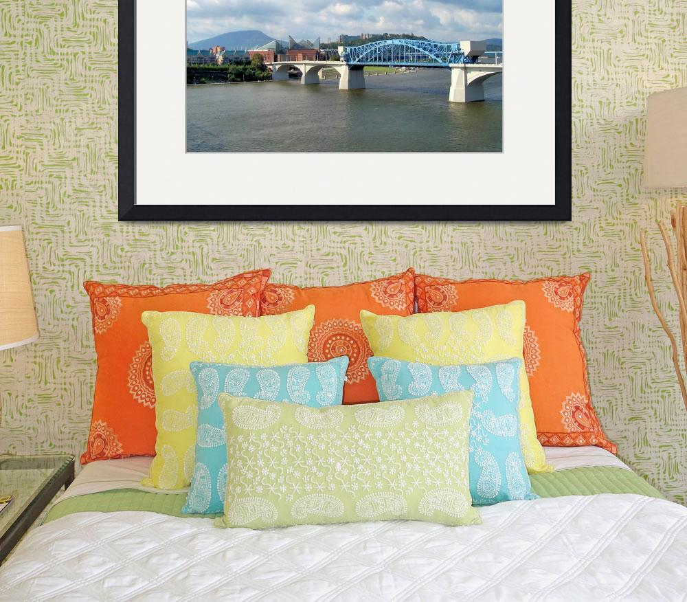 """""""Chattanooga, Tennessee&quot  (2009) by KCampbell"""