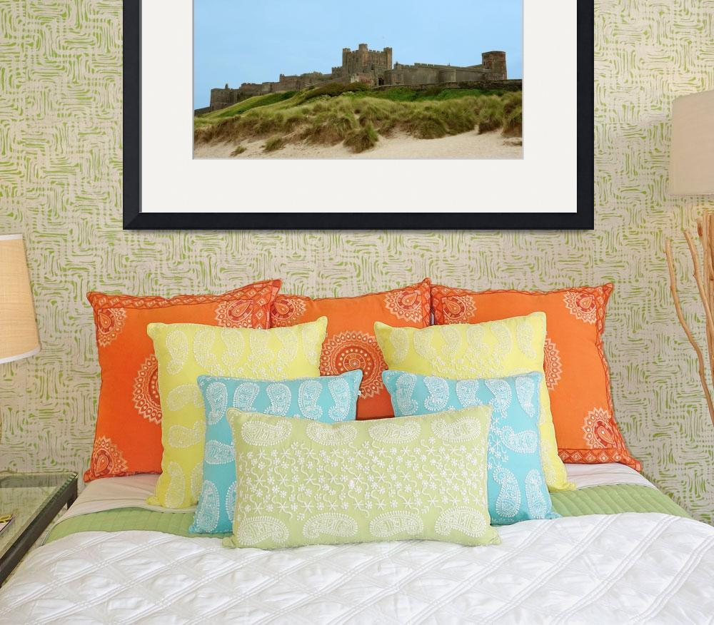 """""""Bamburgh Castle""""  (2010) by ChrisBarry"""
