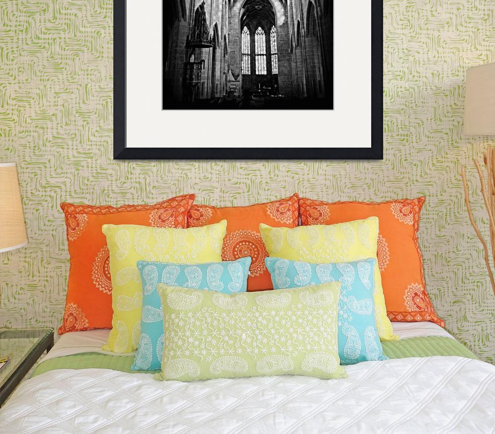 """""""Gothic Style Church&quot  (2012) by Zayps"""