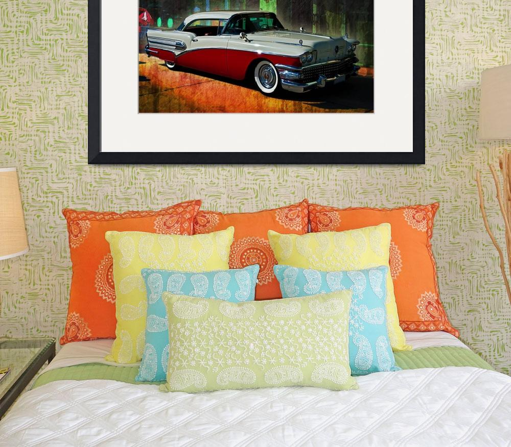 """""""1958 Buick""""  (2012) by StuartRow"""