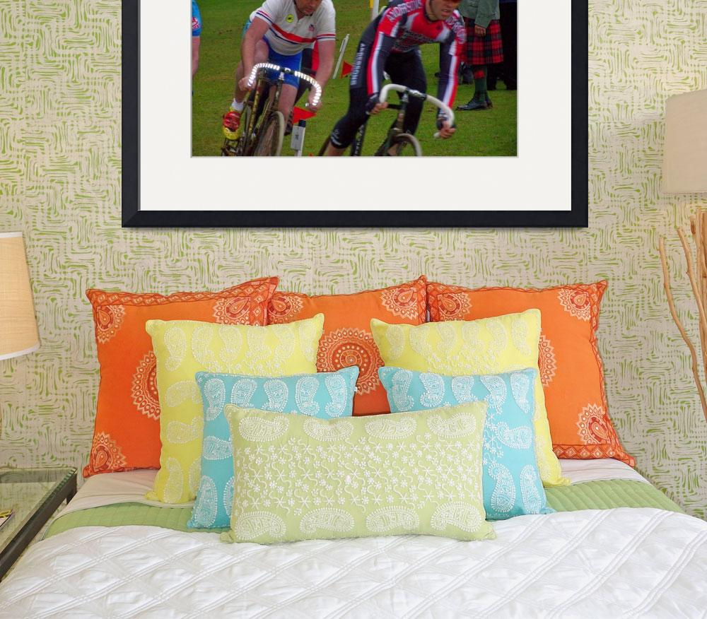 """""""Cycle racing&quot  (2008) by FifePhotographer"""