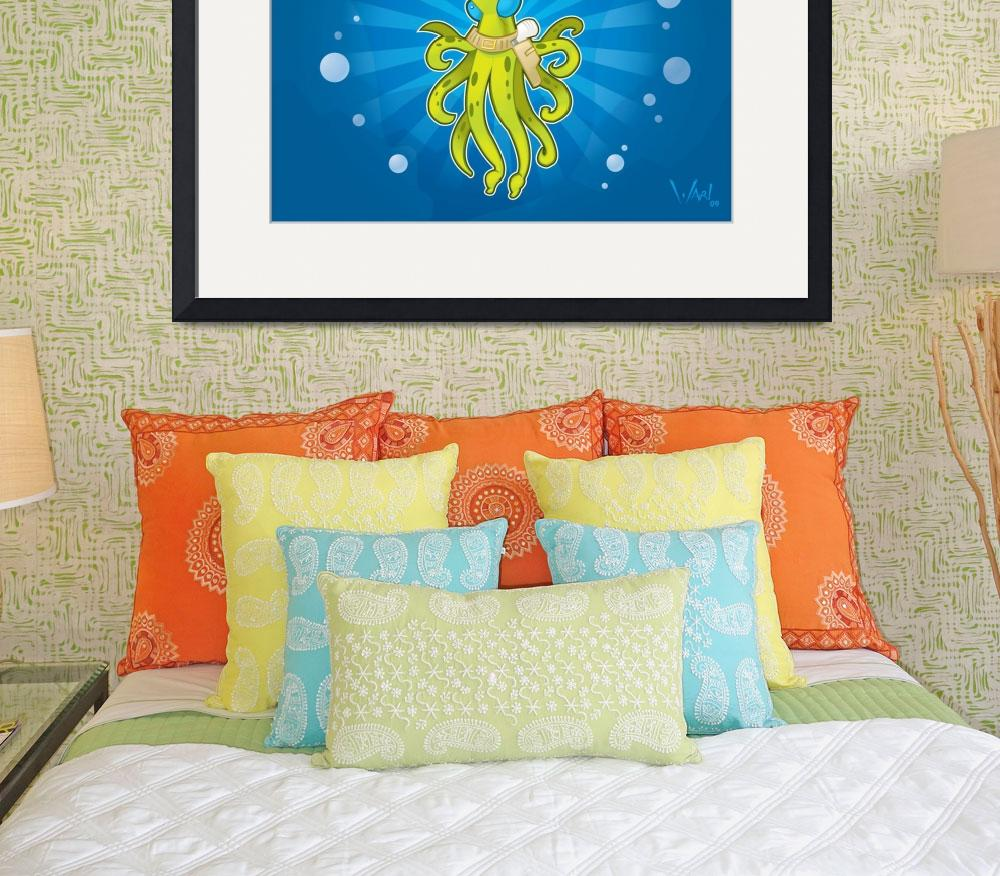 """""""Billy the Squid&quot  (2009) by wardellb"""