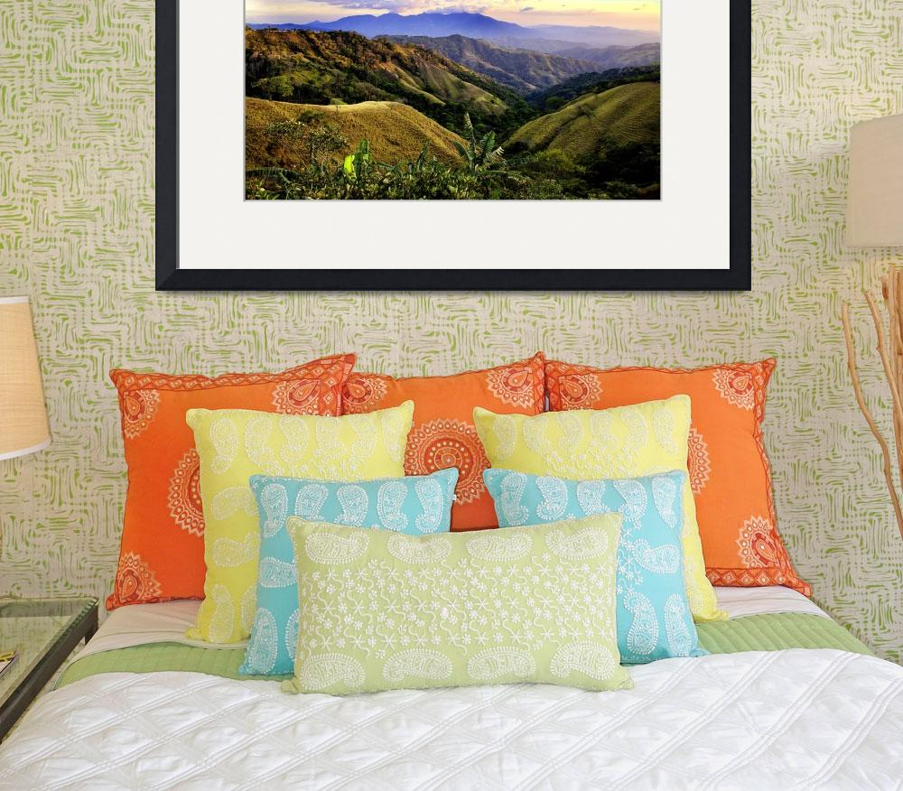 """""""Costa Rica Rolling Hills&quot  (2008) by madeline"""