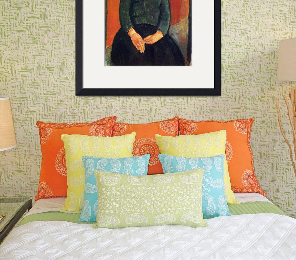 """""""Amedeo Clemente Modigliani Painting 3&quot  by ArtLoversOnline"""