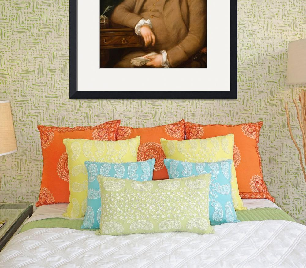 """Thomas_Gainsborough_-_Portrait_of_John_Thornton,_E&quot  by motionage"