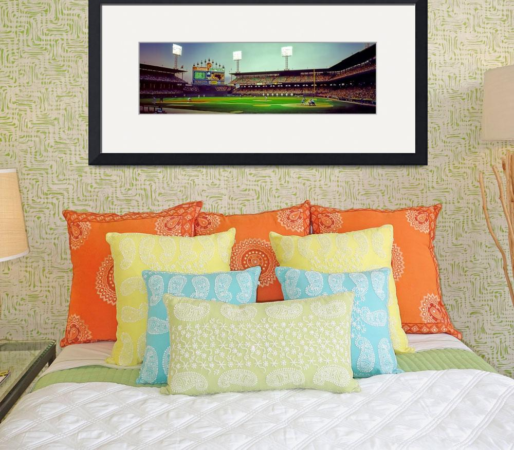 """""""Comiskey Park third and home&quot  by TomJelen"""