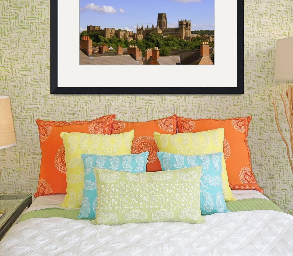 """""""Durham Cathedral and Castle, UK&quot  (2008) by DiabloRojo"""