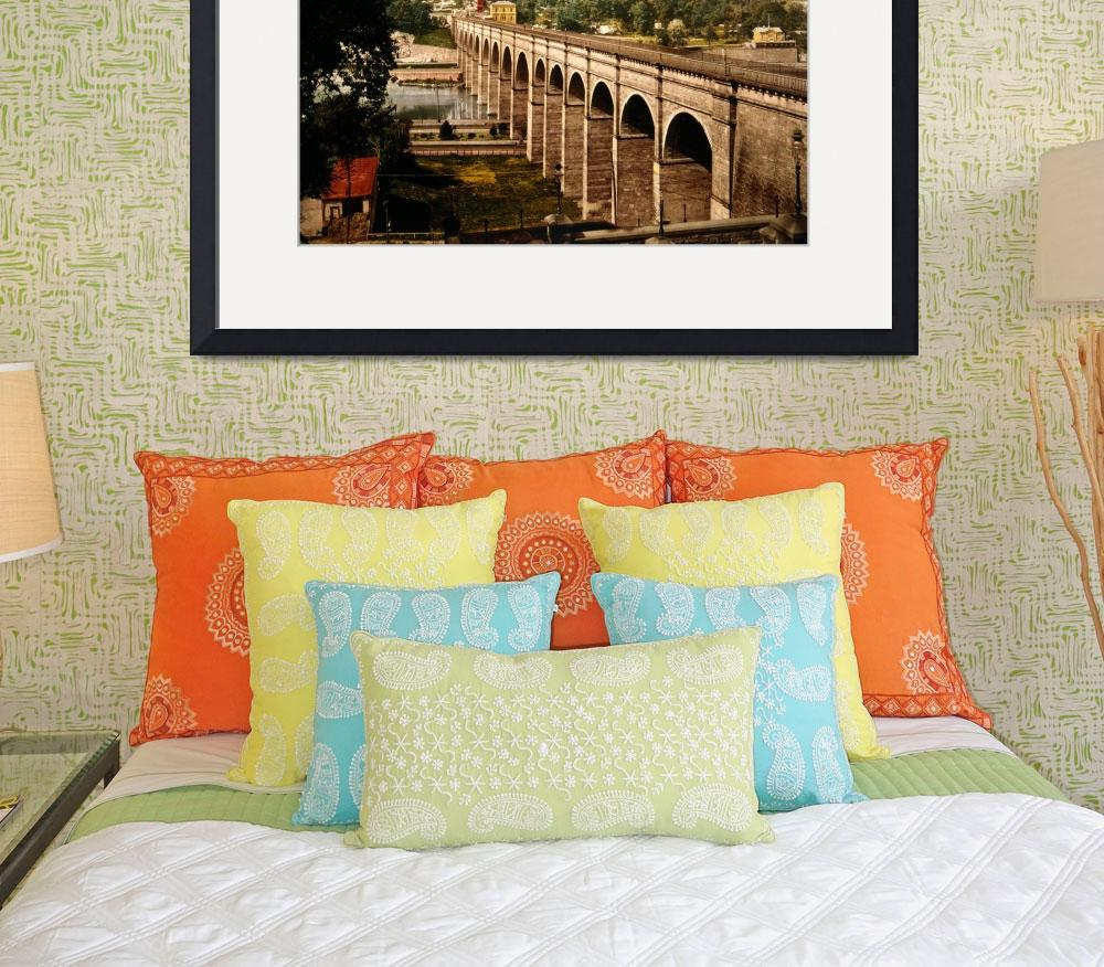 """High Bridge in New York City Photo-Print (1900)&quot  by Alleycatshirts"