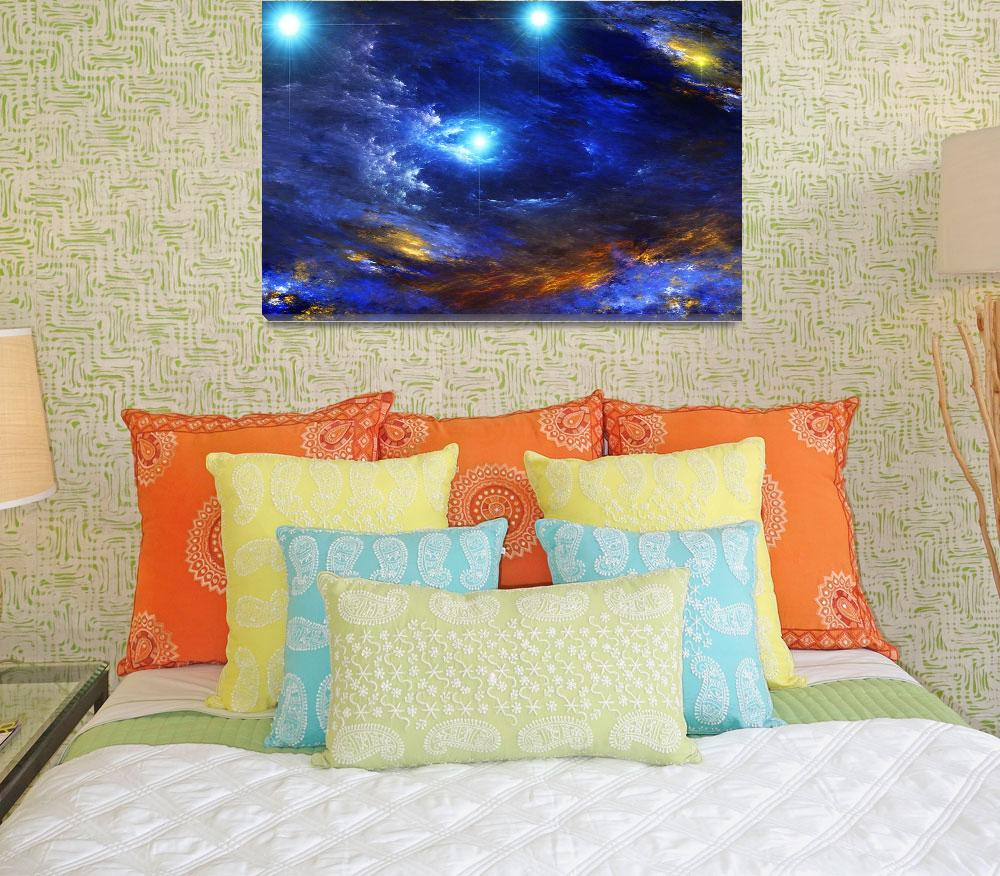 """""""The Brighid Nebula""""  (2009) by RandallKlopping"""