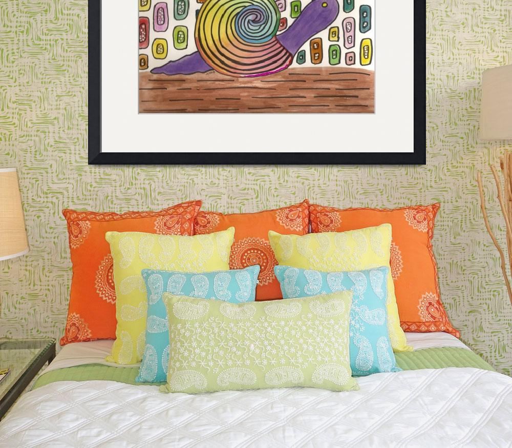 """""""Funky Snail""""  (2008) by joclaire"""
