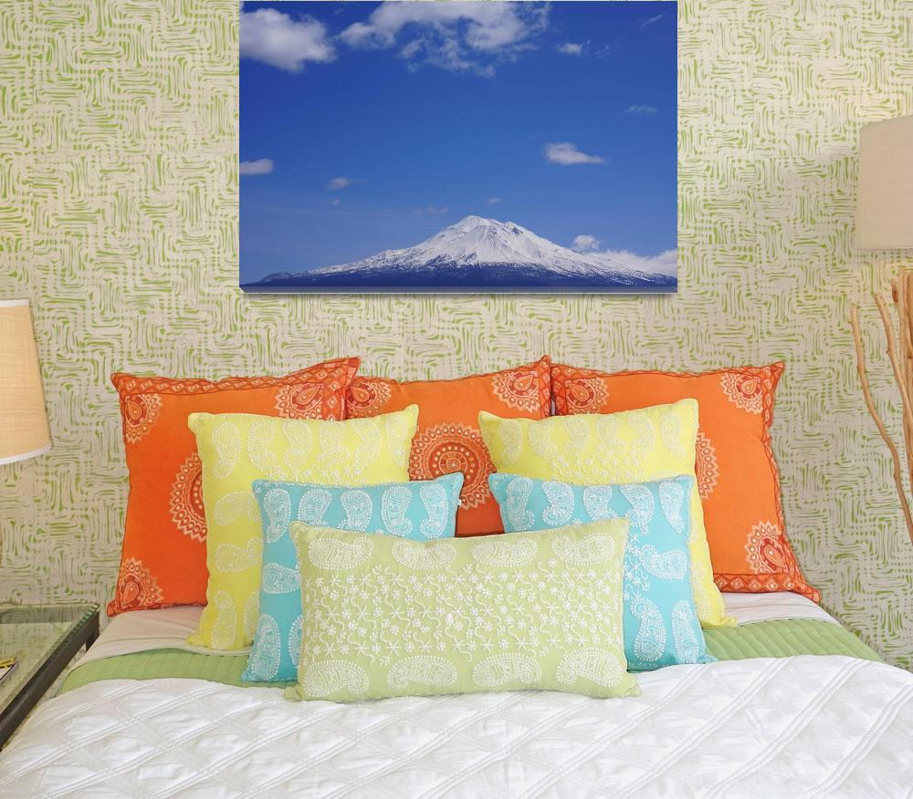 """Mt Shasta Art Prints Shasta Mountain Photography""  (2014) by BasleeTroutman"