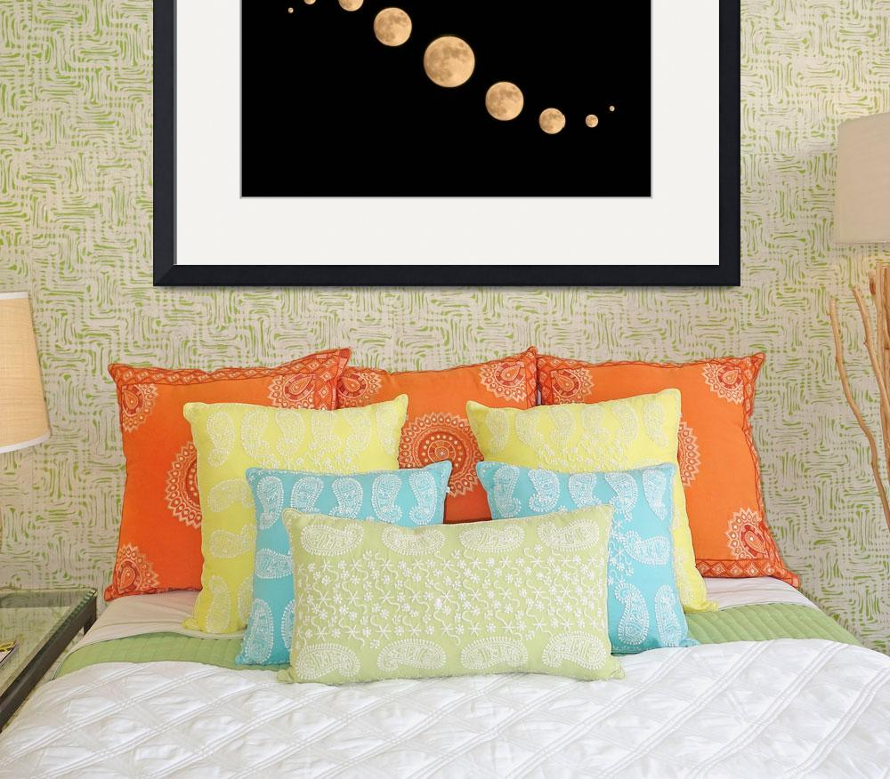 """""""Moon Swirl&quot  (2011) by ideaproductions"""