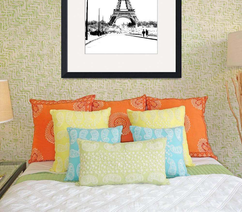 """""""Eiffel Tower&quot  (2002) by MadM"""