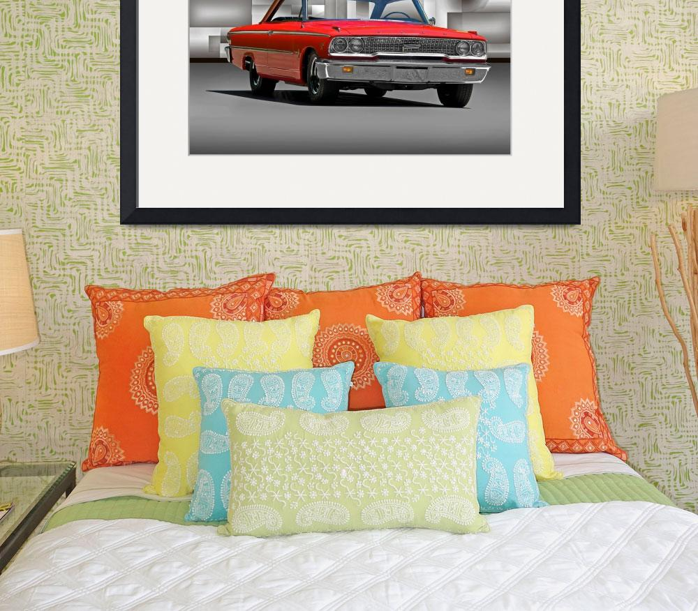 """""""1963 Ford Galaxie 427 Cu In&quot  by FatKatPhotography"""