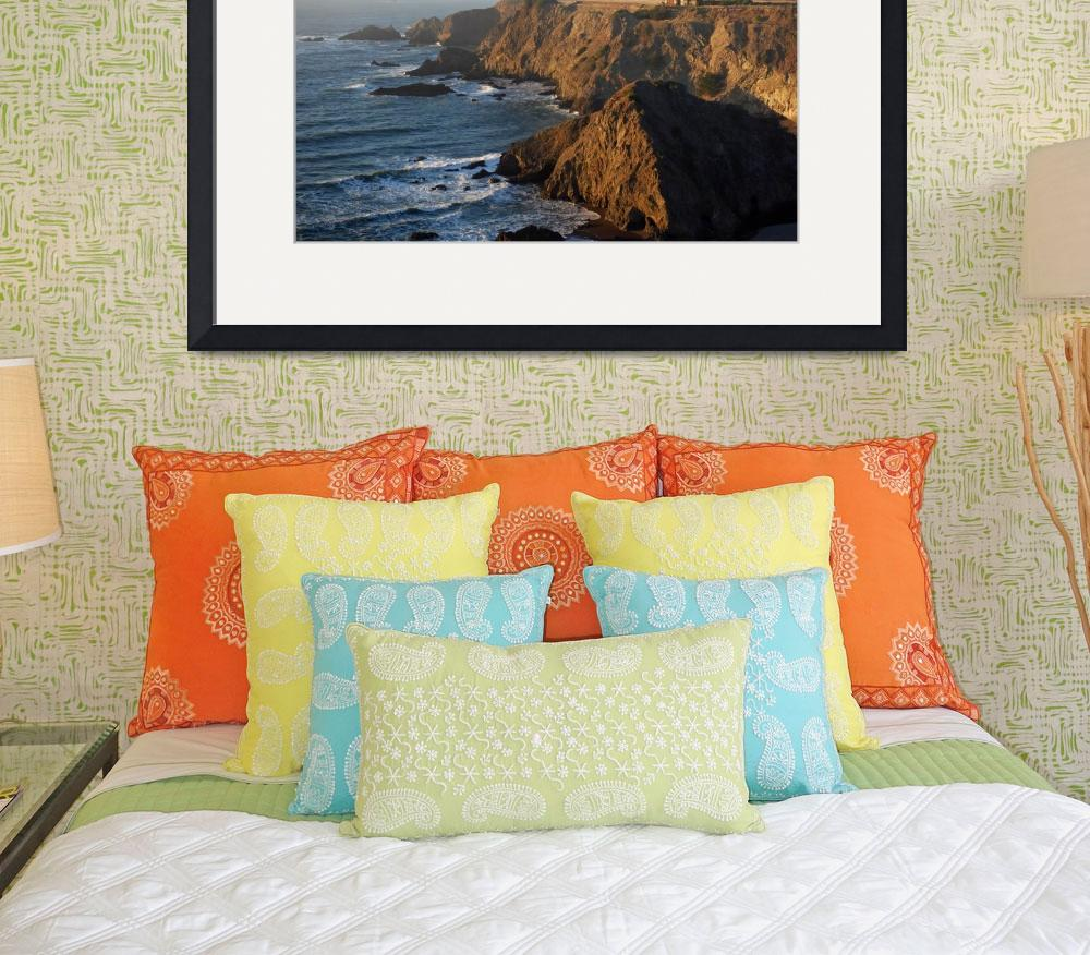 """2436-california-pch1-houseoncliff copy&quot  by North22Gallery"