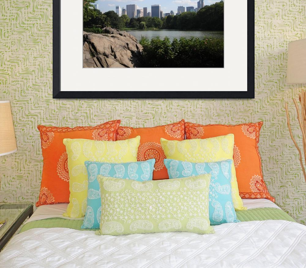 """""""Central Park, New York CIty&quot  (2011) by brittenham"""