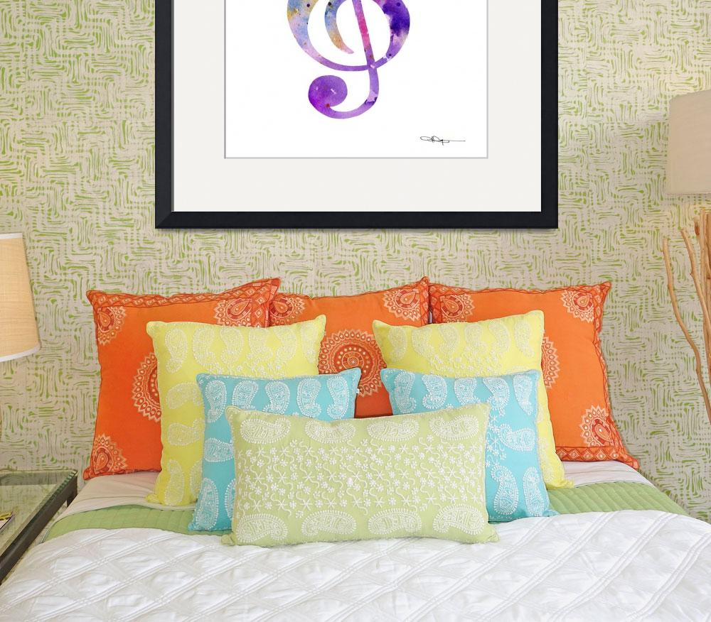 """""""Musical Note&quot  (2015) by k9artgallery"""
