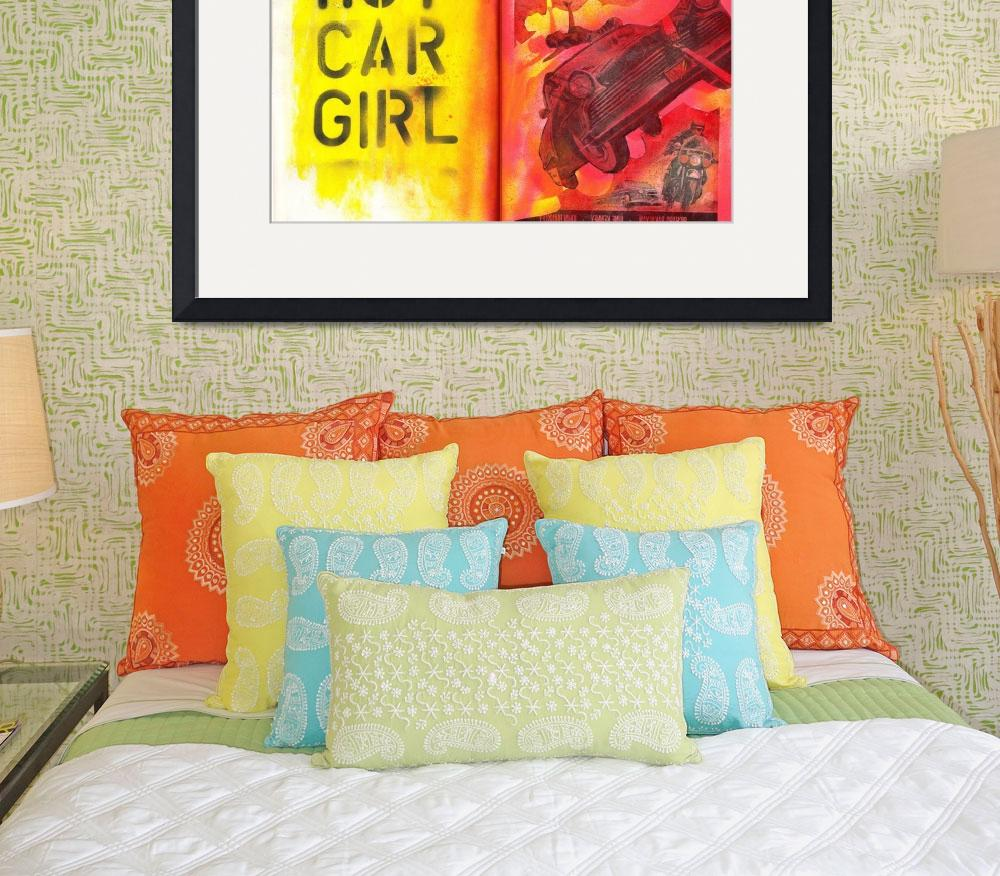 """""""Hot Car Girl""""  (2009) by Openhere"""