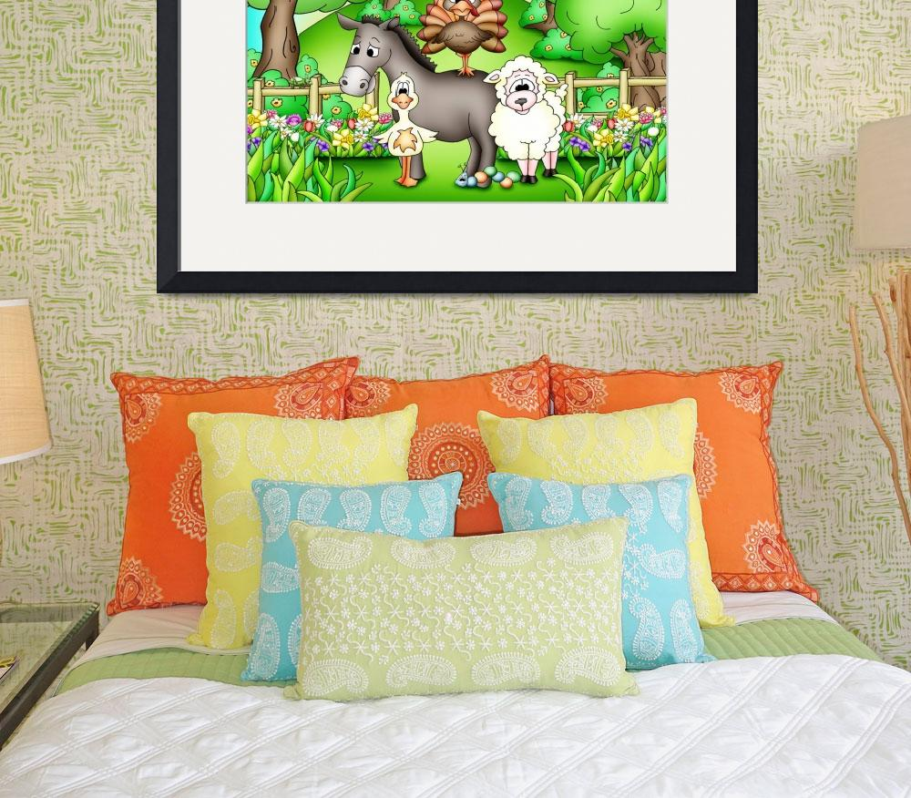"""Farm Animals with Donkey&quot  (2010) by just4mebooks"