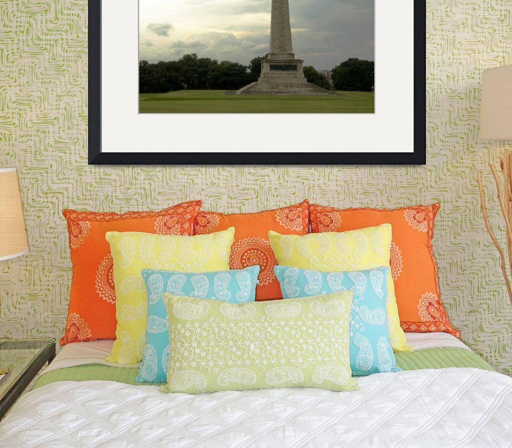 """""""Wellington Monument&quot  (2014) by ValeriesGallery"""