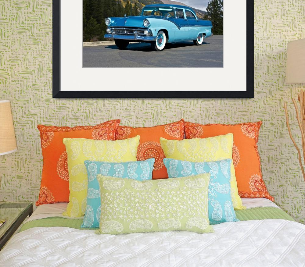 """""""1955 Ford Family Sedan&quot  by FatKatPhotography"""