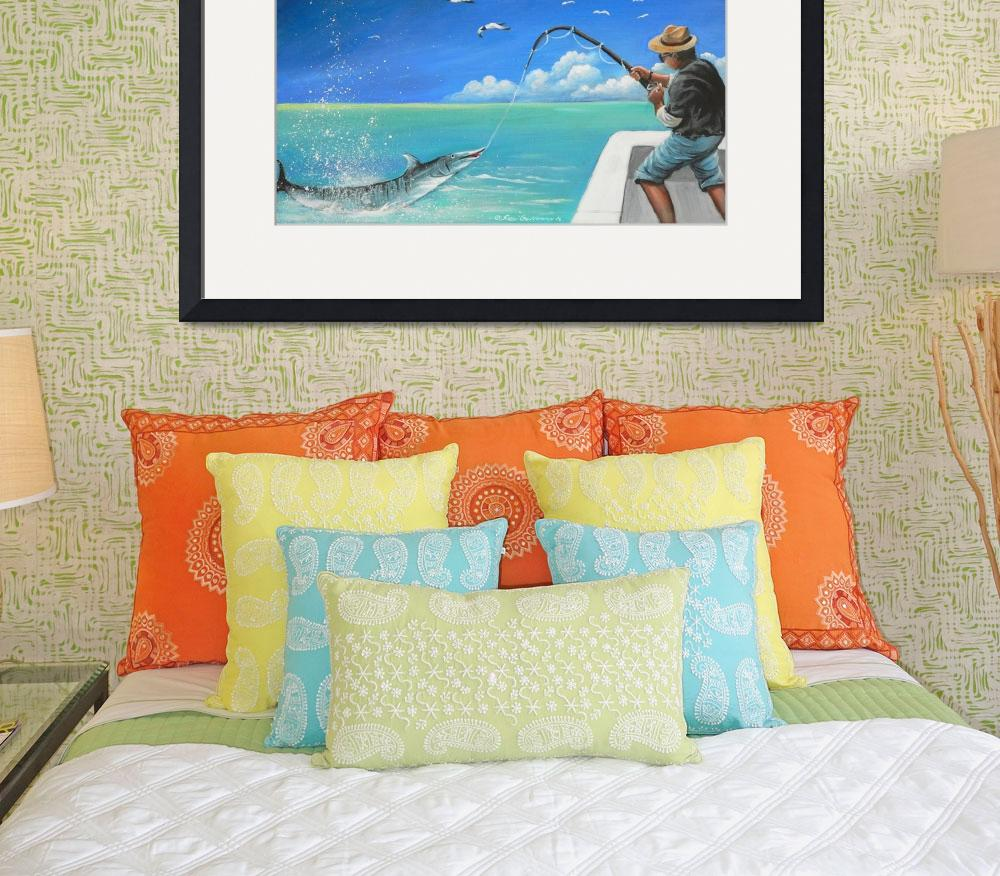 """""""Fishing in the Bahamas&quot  (2006) by sgnarts"""