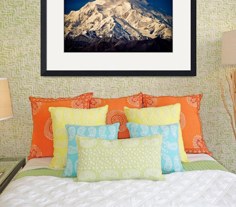 """""""Denali (Mount McKinley) from Eielson visitor centr&quot  (2003) by ExposedPlanet"""