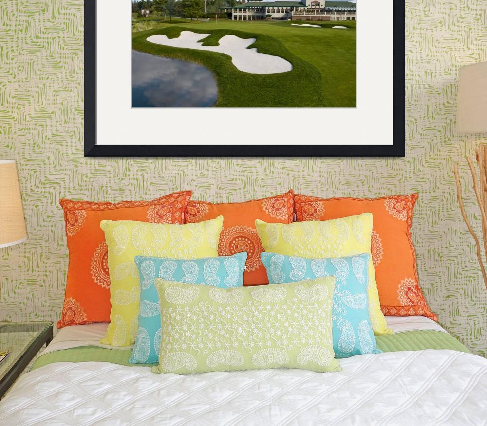 """""""The 18th at the Woodlands Club""""  (2009) by GordieSea"""