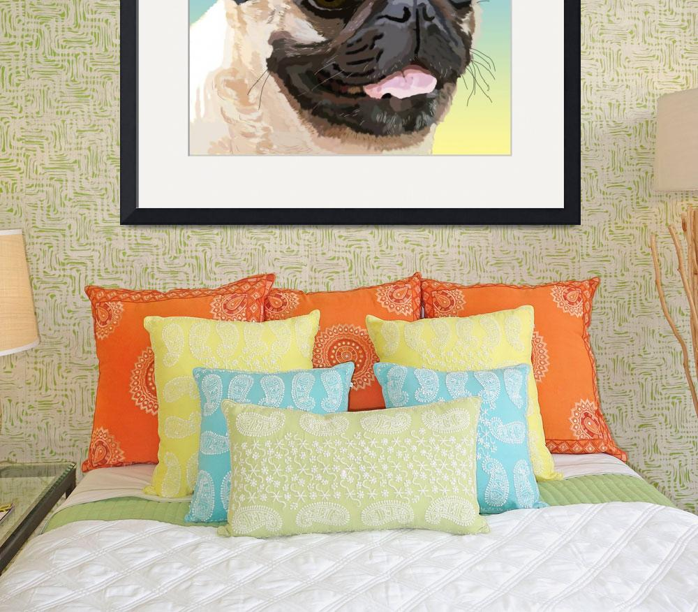 """""""Our Friend the Pug""""  (2007) by diane"""