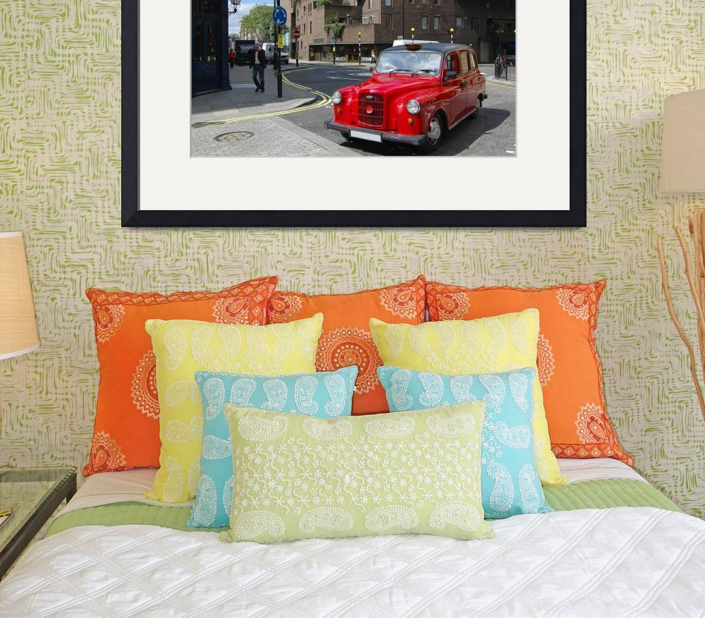 """""""London red cab&quot  (2008) by katta"""
