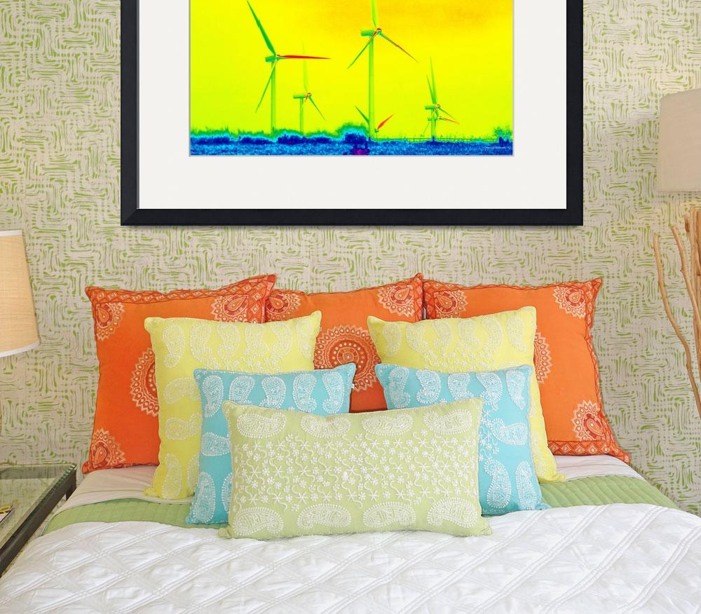 """Under The Rainbow: Prairie Wind #5&quot  (2009) by Freeman_Photographic"